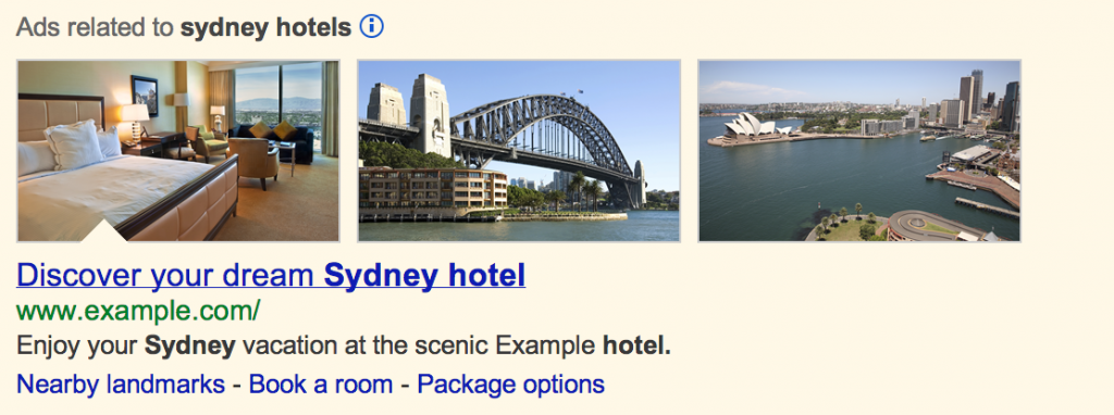 AdWords Image Extension Example