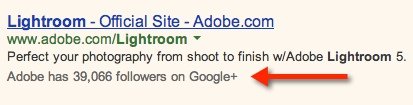 Social Annotation in AdWords