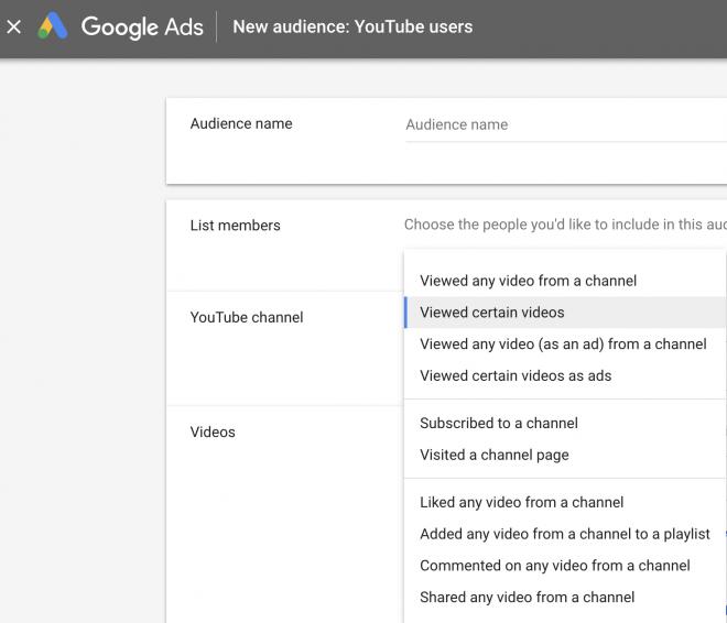 Video ad marketing goals