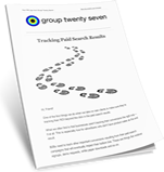 Group Twenty Seven PPC Newsletter